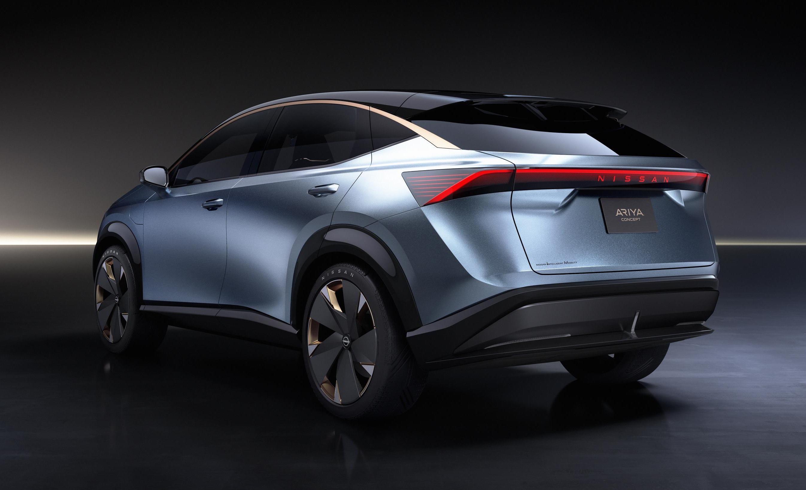 Nissan Ariya Electric Suv Concept Revealed At Tokyo Show Performancedrive