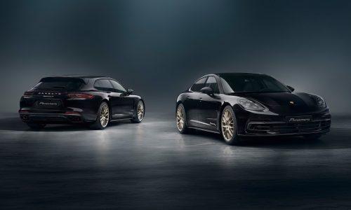 Porsche Panamera 10 Year Edition revealed, celebrates 10th anniversary