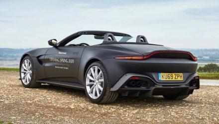 2020 Aston Martin Vantage Roadster previewed