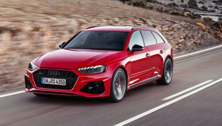 2020 Audi RS 4 Avant revealed, retains 2.9TT V6
