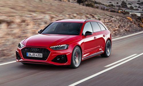 2020 Audi RS 4 Avant revealed, retains 2.9TT V6