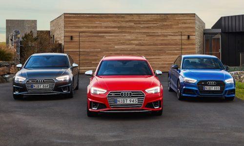 2020 Audi S3, S4, S5 updates announced for Australia