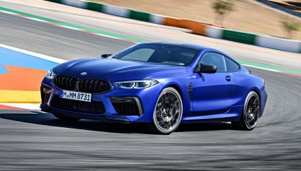 BMW M8 Competition on sale in Australia Q1, 2020