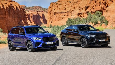 2020 BMW X5 M, X6 M revealed, with Competition variants