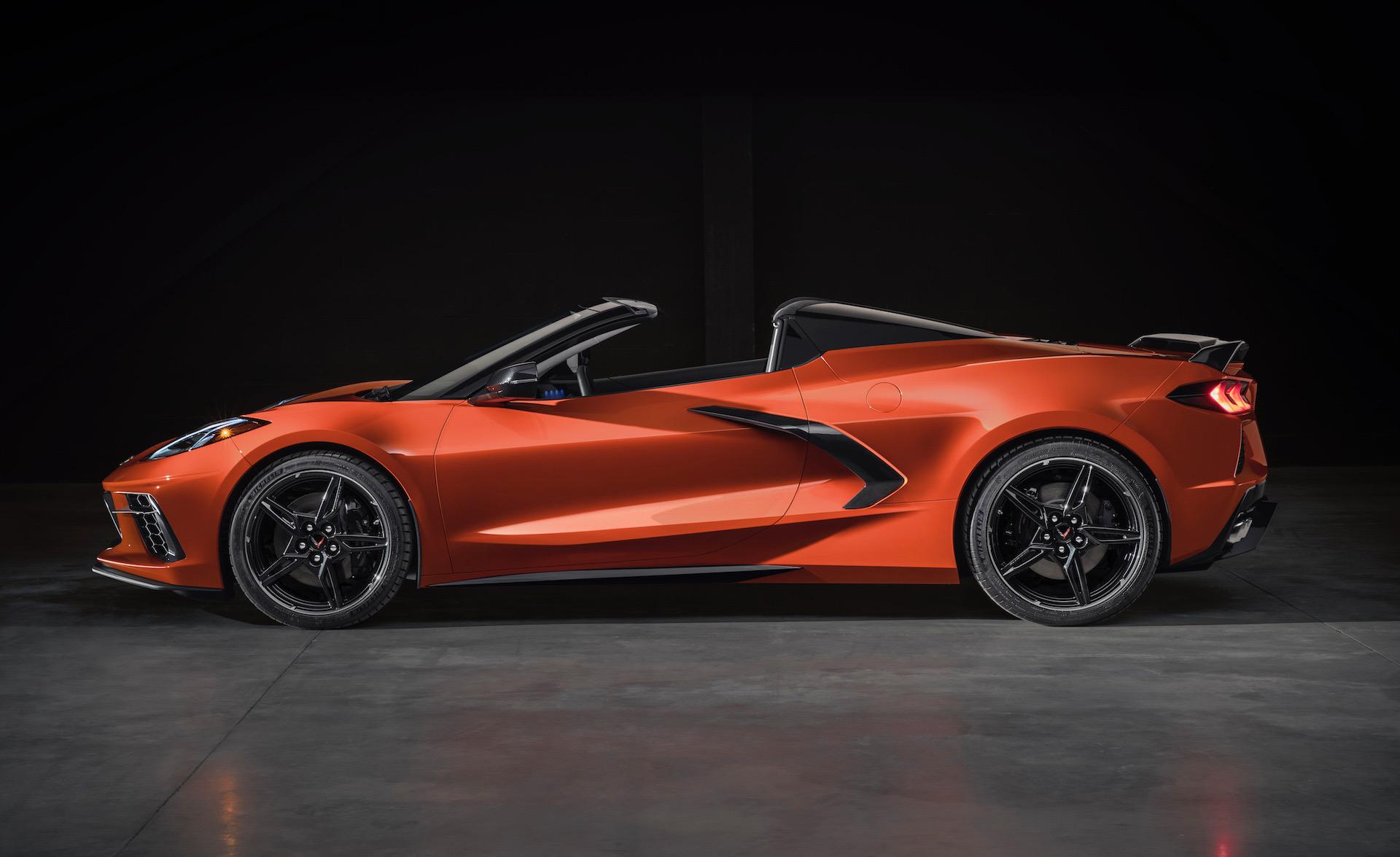 2020 Chevrolet Corvette Stingray Convertible revealed ...