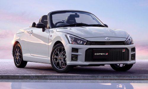 Gazoo Racing creates Daihatsu Copen GR Sport edition