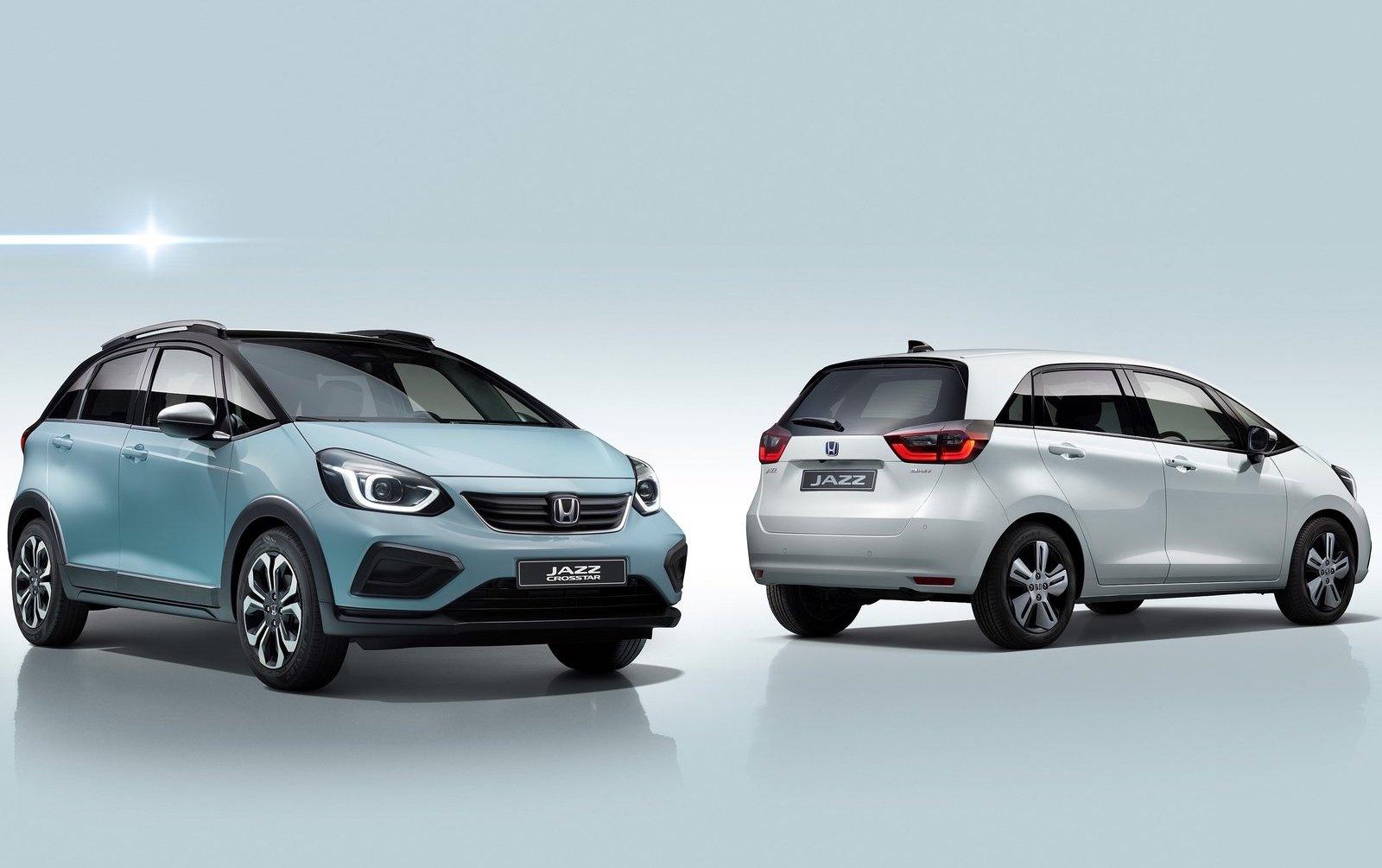 2020 Honda Jazz Debuts With Crosstar Suv Variant Performancedrive