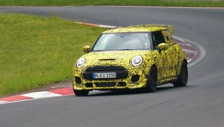 2020 MINI John Cooper Works GP spotted, features wild aero (video)