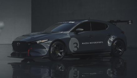 2020 Mazda3 TCR racing car unveiled