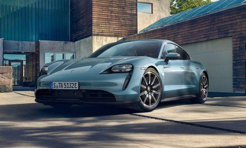 2020 Porsche Taycan 4S unveiled, new entry version