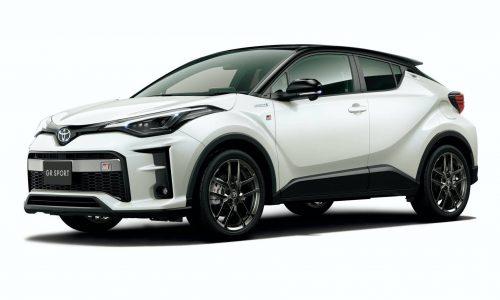 Toyota C-HR GR Sport revealed, for Japan only