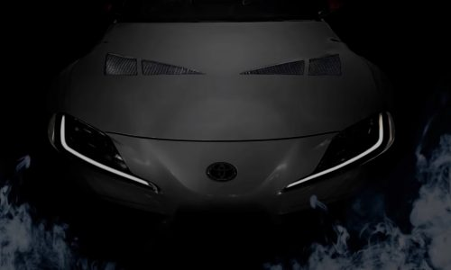 TRD Toyota GR Supra 3000GT Concept previewed (video)
