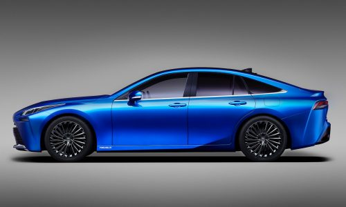 2020 Toyota Mirai previewed, suave concept headed for Tokyo show