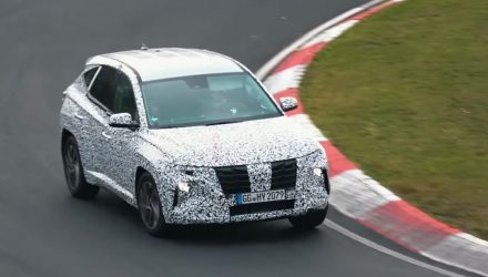 2021 Hyundai Tucson driving dynamics honed at Nurburgring (video)