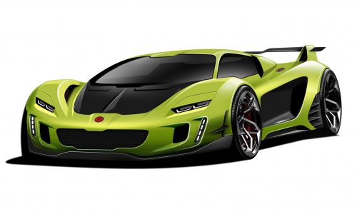 2022 Gemballa hypercar previewed again, hybrid on the way