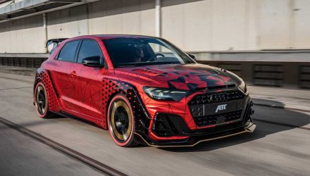 ABT Audi A1 '1of1' showcases insane wide-body tuning potential (video)