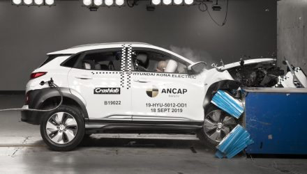Hyundai Kona Electric earns 5-star ANCAP safety, first EV crash tested