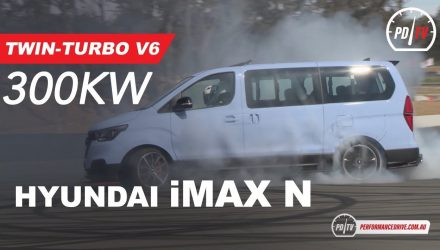 Video: 300kW Hyundai iMax N twin-turbo torturing tyres