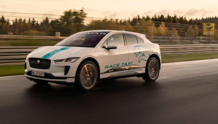 "Jaguar I-PACE becomes first Nurburgring ""RACE eTAXI"""
