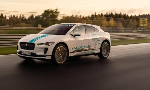 "Jaguar I-PACE becomes first Nurburgring ""RACE eTAXI"""
