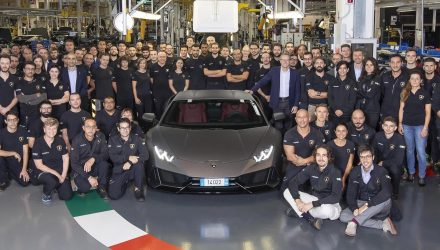 Lamborghini Huracan production hits 14,022, passes Gallardo