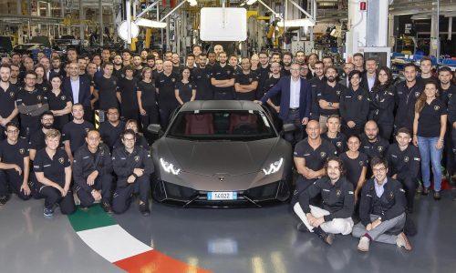 Lamborghini Huracan production hits 14,022, passes Gallardo