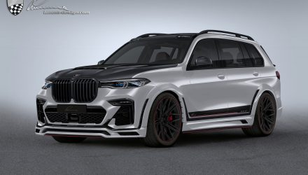 Lumma Design gives BMW X7 even more presence