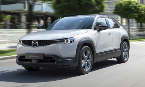 Mazda MX-30 unveiled, first fully electric production car
