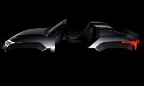 Mitsubishi MI-TECH, Super Height K-Wagon concepts previewed