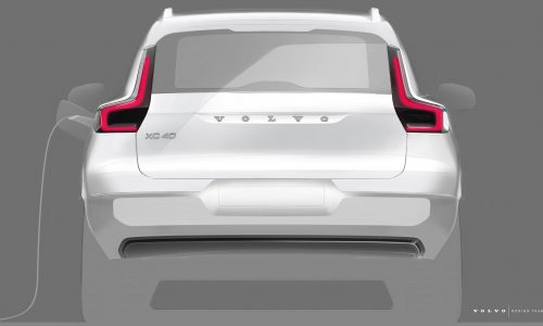 Electric Volvo XC40 previewed ahead October 16 debut