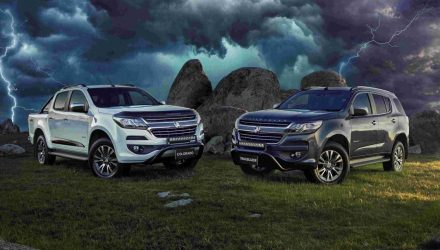 2019 Holden Colorado Storm & Trailblazer Storm now on sale in Australia