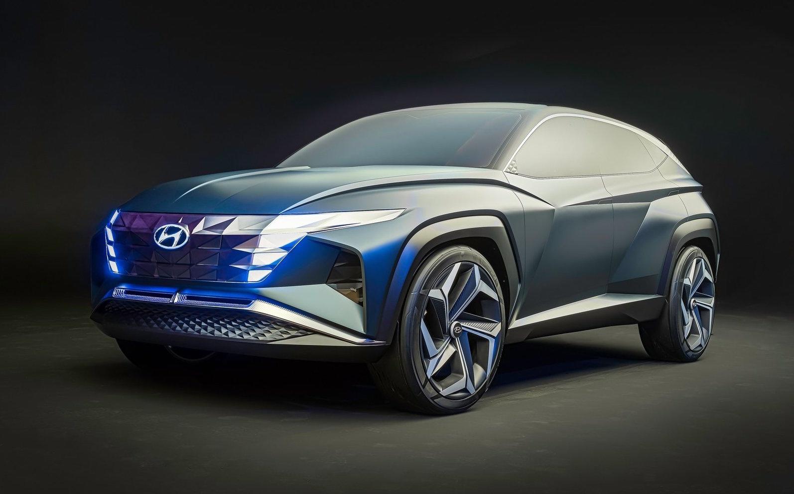 Hyundai Vision T concept revealed, previews 2021 Tucson ...