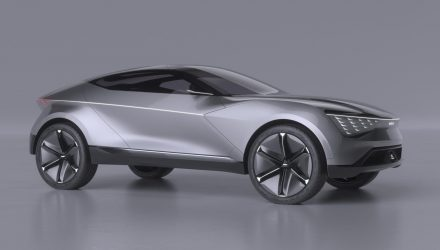 Kia Futuron concept previews future electric vehicle design
