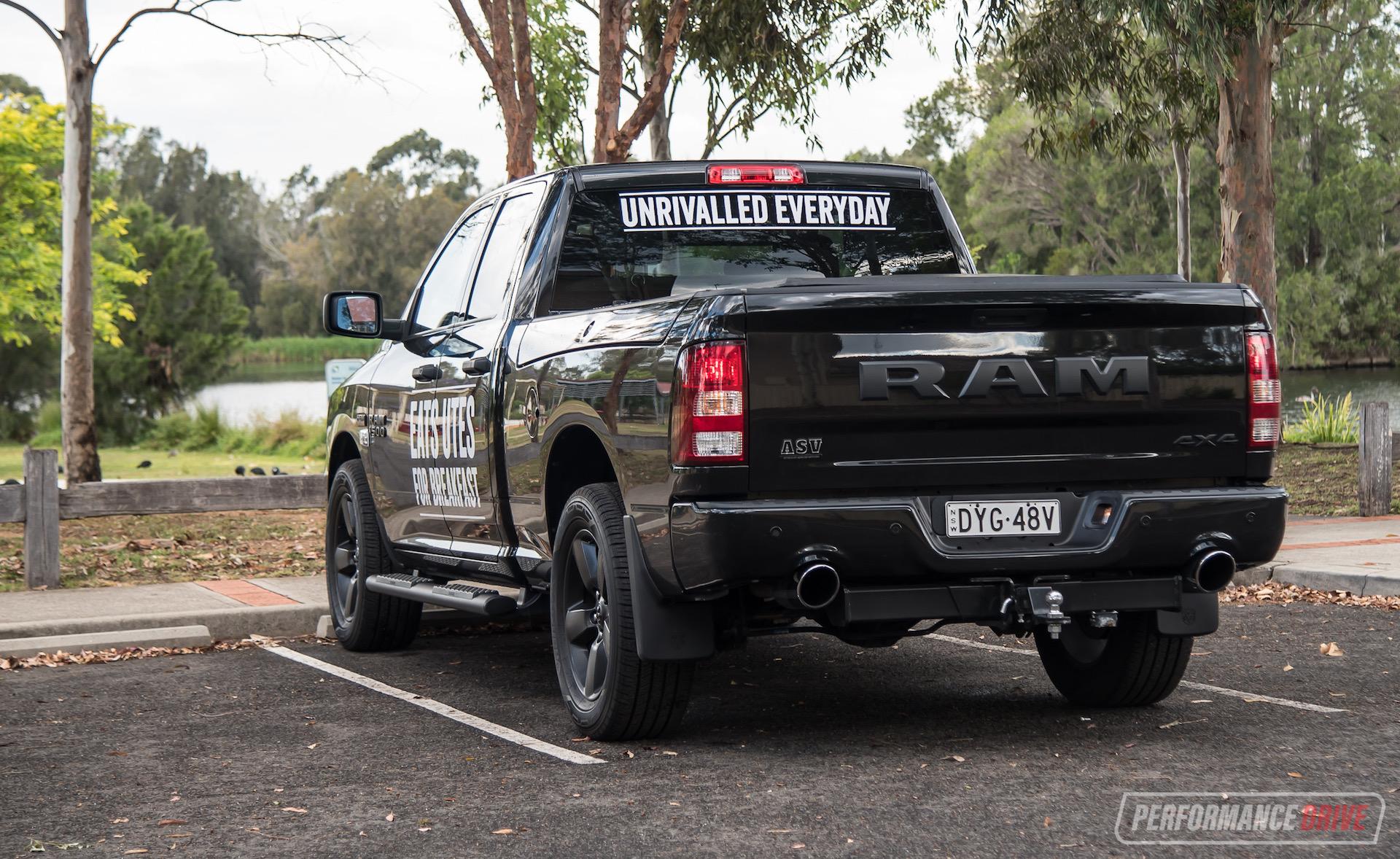 2019 Ram 1500 Express V8 Review Video Performancedrive
