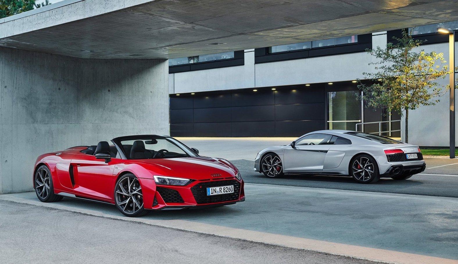 2020 Audi R8 V10 Rwd Revealed Becomes Permanent Model Performancedrive