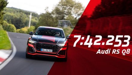 2020 Audi RS Q8 breaks SUV Nurburgring lap record (video)
