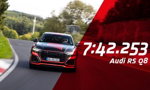 2020 Audi RS Q8 breaks SUV Nurburgring lap record (video)