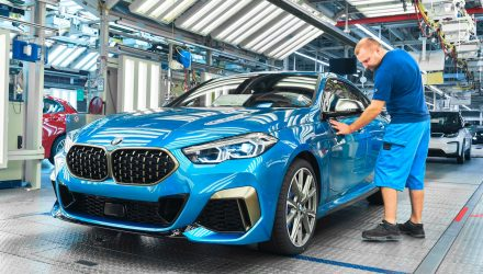 BMW 2 Series Gran Coupe production commences at Leipzig plant