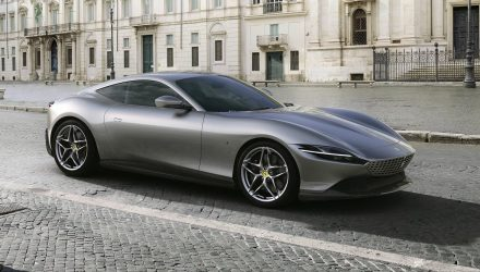 Ferrari Roma revealed: new front-engine V8 RWD coupe