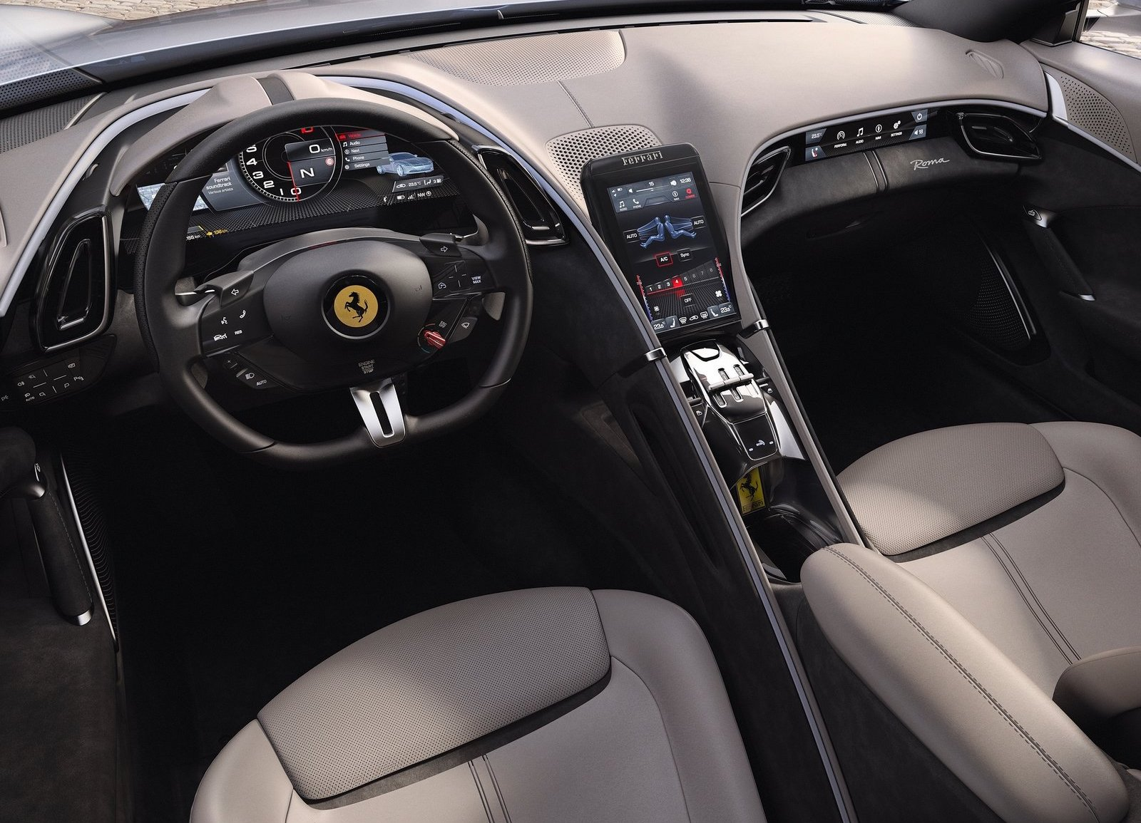 BMW Twin Turbo >> Ferrari Roma revealed: new front-engine V8 RWD coupe ...