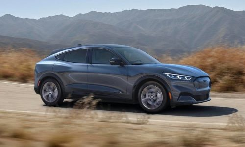 Ford Mustang Mach-E revealed, fully electric SUV muscle car