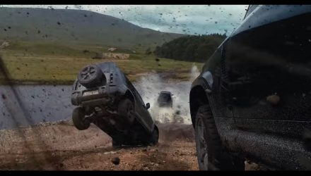 Video: New Land Rover Defender being used in No Time To Die, 007 film