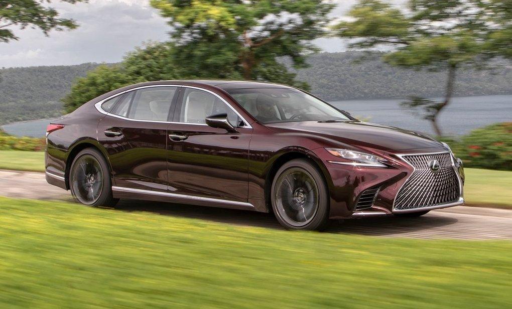 2020 Lexus LS Inspiration Series announced