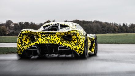 Lotus Evija; dynamic testing commences for 1472kW supercar (video)