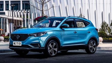 MG ZS EV electric SUV on sale in Australia from $46,990