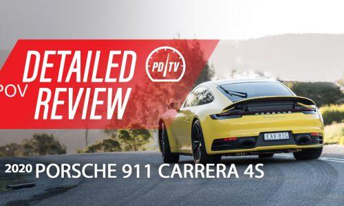 Video: 2020 Porsche 911 Carrera 4S – Detailed review (POV)