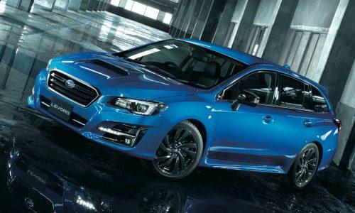 2020 Subaru Levorg V-Sport debuts in Japan, says goodbye to current gen