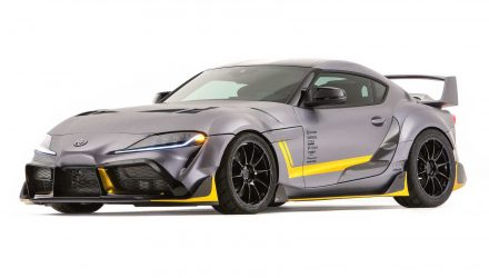 Toyota GR Supra 3000GT concept revealed at SEMA show