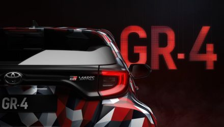 Toyota previews GR Yaris 'GR-4' prototype, debuts at Rally Australia