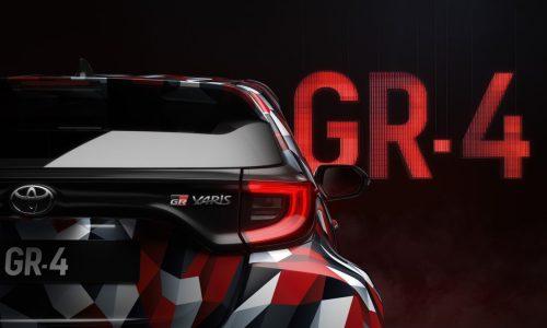 Toyota previews GR Yaris 'GR-4' prototype, debuts at Rally Australia